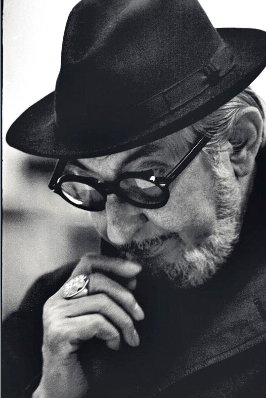 Carlo Scarpa, circa 1970© Lino Bettanin - CISA A. Palladio- Regione Veneto