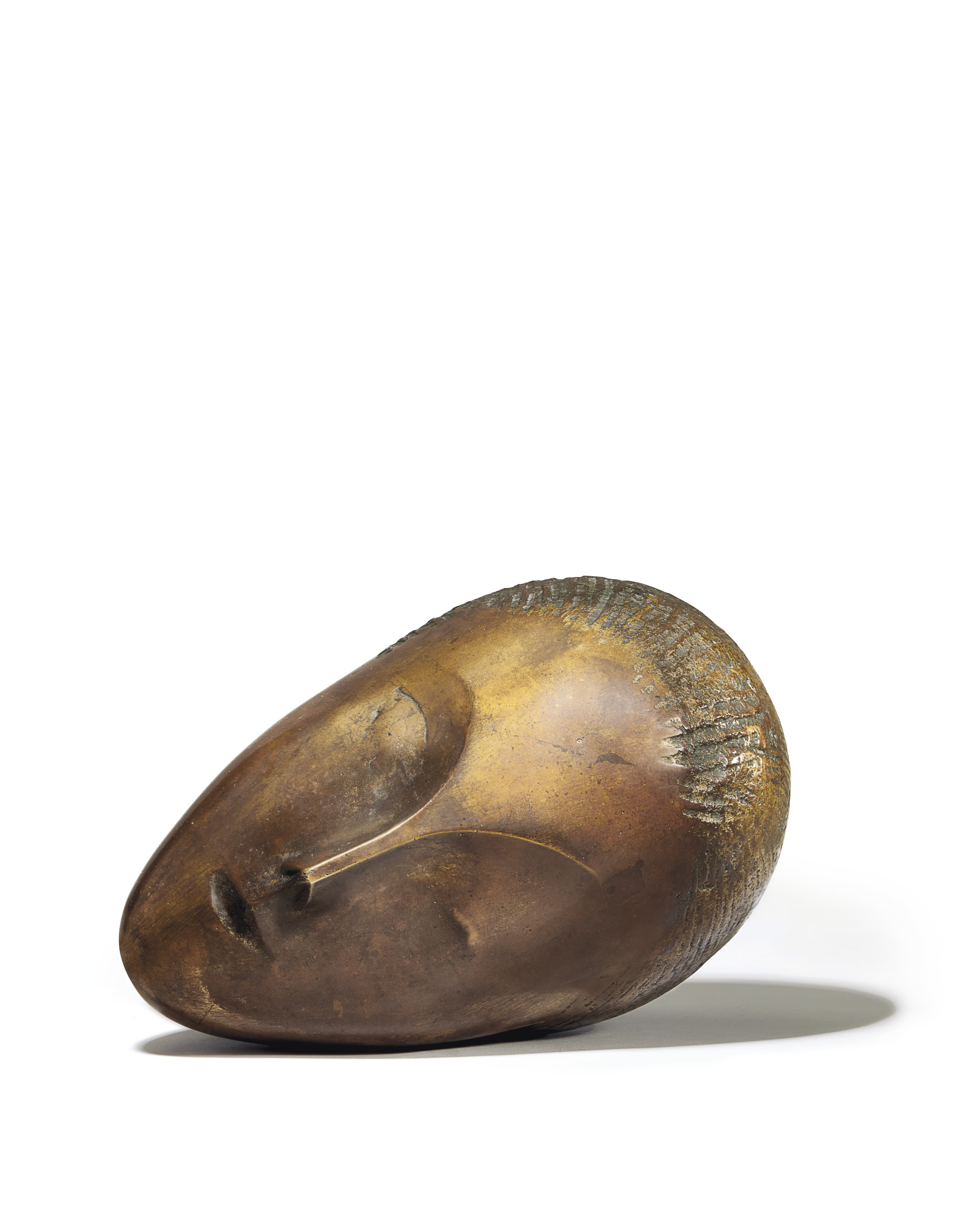 Constantin Brancusi, La muse endormie. Sold for $57,367,500. WORLD AUCTION RECORD FOR THE ARTIST
