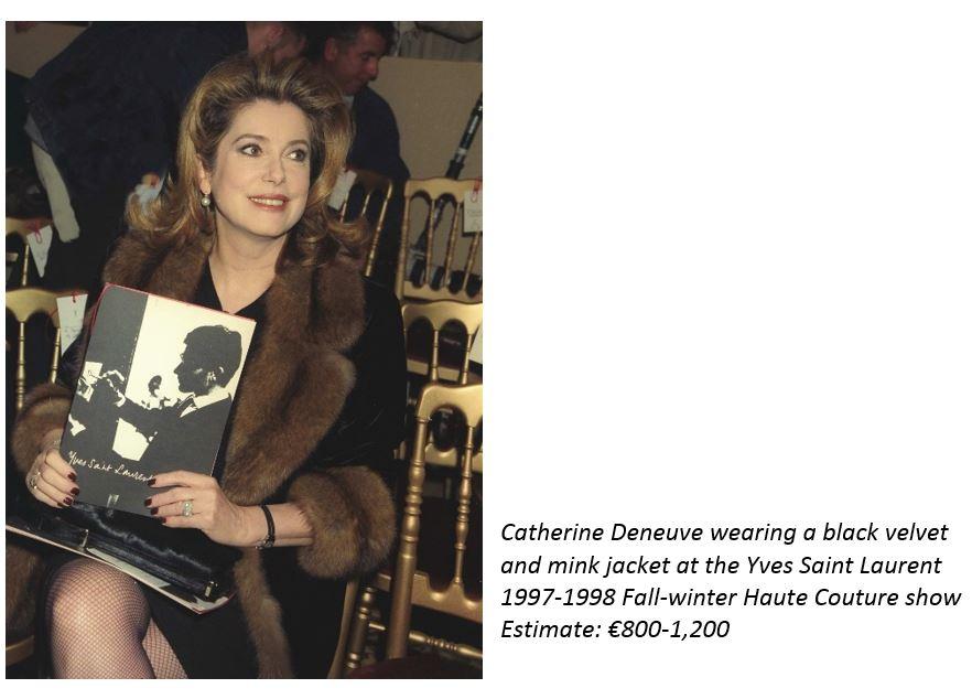e1306d1020f RELEASE Paris Catherine Deneuve & Yves Saint Laurent A Very ...