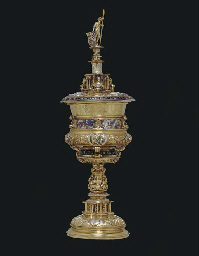 THE BRIEG CUP: A HIGHLY IMPORTANT GERMAN RENAISSANCE SILVER-
