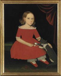 AMMI PHILLIPS (1787-1865), CIRCA 1830-1835 <BR>