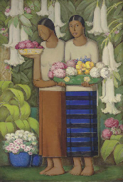 ALFREDO RAMOS MARTINEZ (MEXICAN 1872-1946) <BR>