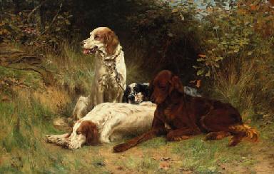 THOMAS BLINKS (BRITISH, 1860-1912) <BR>