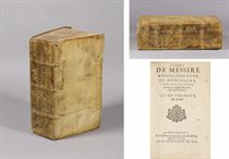MONTAIGNE, MICHEL EYQUEM DE (1533-1592). <I>ESSAIS. LIVRE PR