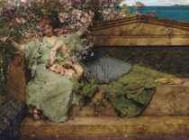 SIR LAWRENCE ALMA-TADEMA, O.M., R.A. (1836-1912) <BR>