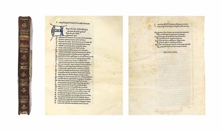 VERGILIUS MARO, PUBLIUS (70-19 B.C.). <I>OPERA</I> (<I>BUCOL