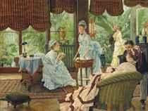 JAMES JACQUES JOSEPH TISSOT (FRENCH, 1836-1902) <BR>