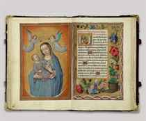 THE ROTHSCHILD PRAYERBOOK, A BOOK OF HOURS, USE OF ROME, IN
