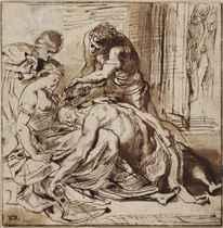 SIR PETER PAUL RUBENS (SIEGEN 1577-1640 ANTWERP)<BR>