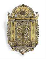 THE ROTHSCHILD TORAH ARK: A MAGNIFICENT GERMAN SILVER AND SI