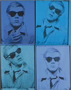 Andy Warhol Self-Portrait, 1963-1964 PRICE REALIZED: $38,442