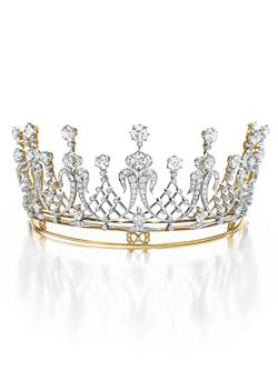 The Mike Todd Diamond Tiara An