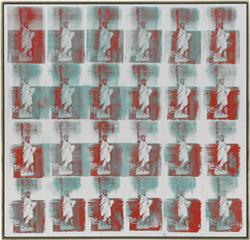 Andy Warhol (1928-1987) Statue