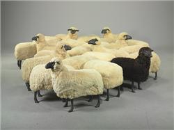 François-Xavier Lalanne (1927-2008) 'Mouton de Laine' Un Tro