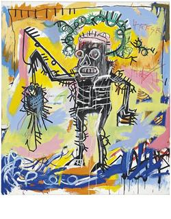 Jean-Michel Basquiat (1960-1988) Untitled, 1981 Acrylic and