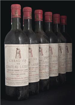 Château Latour, vintage 1961 P