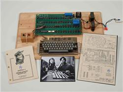 RELEASE: CHRISTIE'S PRESENTS FIRST BYTES: ICONIC TECHNOLOGY