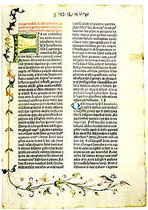 THE GUTENBERG BIBLE, MAINZ