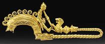 THE CELTIC GOLD WARRIOR FIBULA