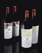 VERTICAL OF CHÂTEAU MOUTON-ROTHSCHILD--VINTAGE 1945 TO 2008