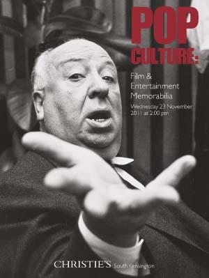 Pop Culture: Film & Entertainm auction at Christies