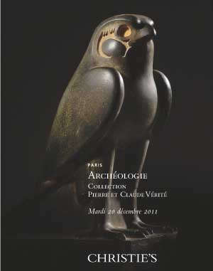 Archéologie : Collection Pierr auction at Christies