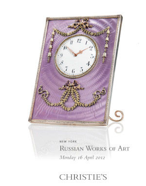 Russian Works of Art auction at Christies