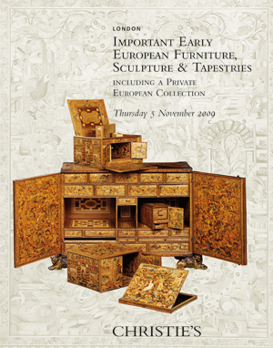 Important Early European Furni auction at Christies
