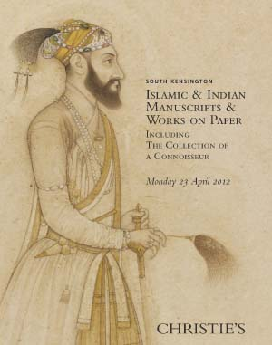 Islamic & Indian Manuscripts & auction at Christies