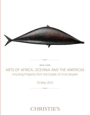 Arts of Africa, Oceania and th auction at Christies