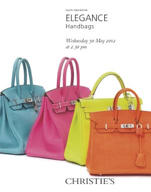 Elegance: Handbags auction at Christies
