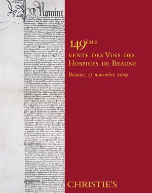149ème Vente des Vins des Hosp auction at Christies