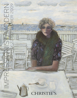 Impressionist/Modern auction at Christies