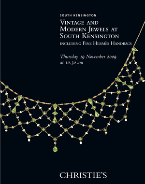Vintage and Modern Jewels at S auction at Christies