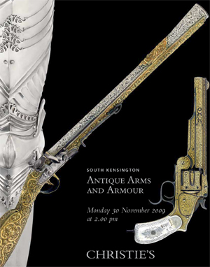 Arms & Armour auction at Christies