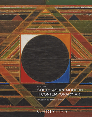 South Asian Modern + Contempor auction at Christies