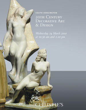 20th Century Decorative Art &  auction at Christies