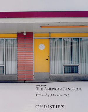 The American Landscape: Color  auction at Christies