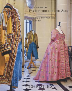 Fashion through the Ages auction at Christies