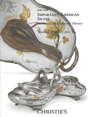 Important American Silver Incl auction at Christies