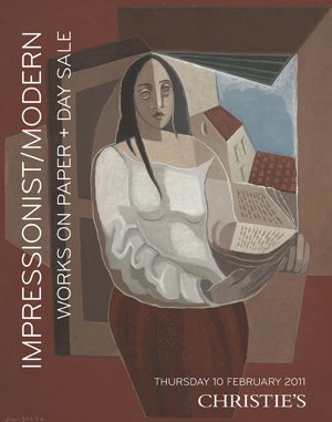 Impressionist/ModernWorks on P auction at Christies