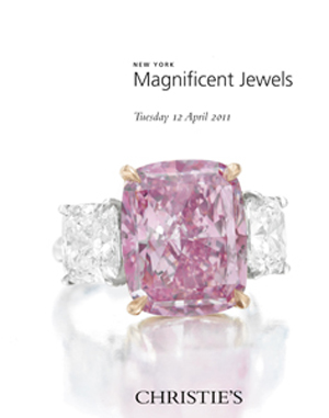 New York Magnificent Jewels auction at Christies