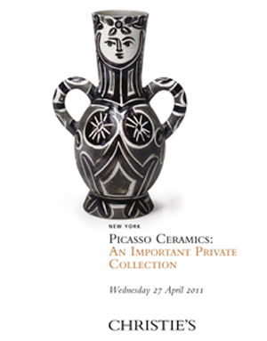 Picasso Ceramics: An Important auction at Christies