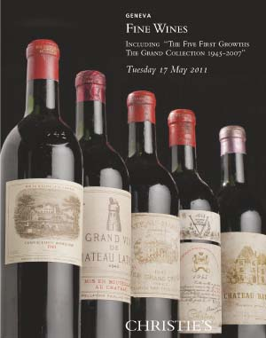 FINE WINES including The Five  auction at Christies