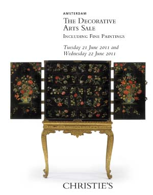The Decorative Arts Sale auction at Christies