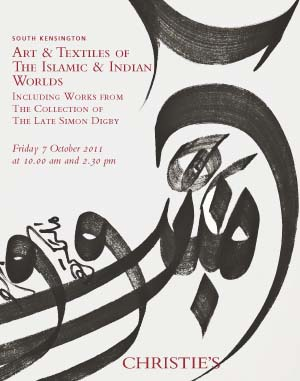 Art & Textiles of The Islamic  auction at Christies