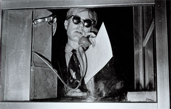 The Birth of Cool Andy Warhol, Self-Portrait, 1963-1964