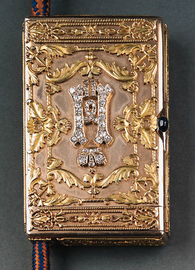 A jewelled two-colour gold presentation Cigarette-Case