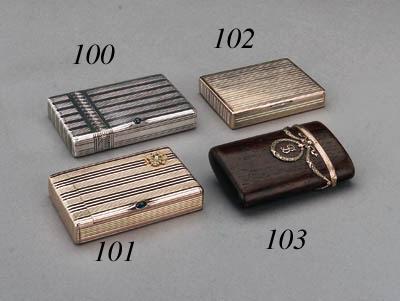 A gemset Cigarette-Case