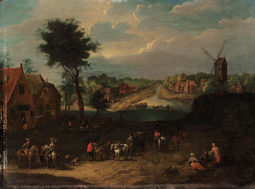 Follower of Joseph van Bredael